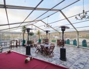 No.4 Hamilton Place Private Dining Image Marquee On Roof Terrace