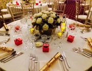 No.4 Hamilton Place Private Dining Image Table Setting For Christmas