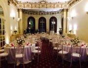 No.4 Hamilton Place Private Dining Room Image Christmas Party Set Facing Terrace