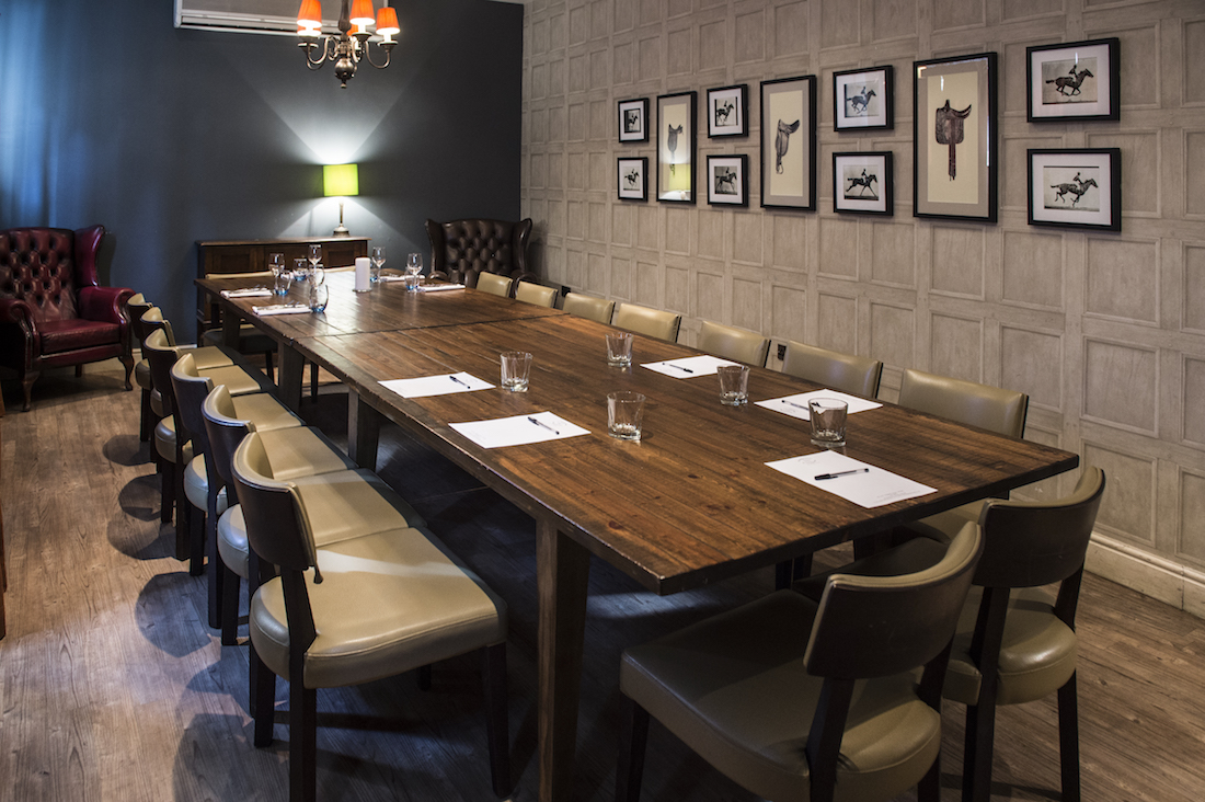 Luxury private dining rooms at no 5 bridge street for Best private dining rooms uk