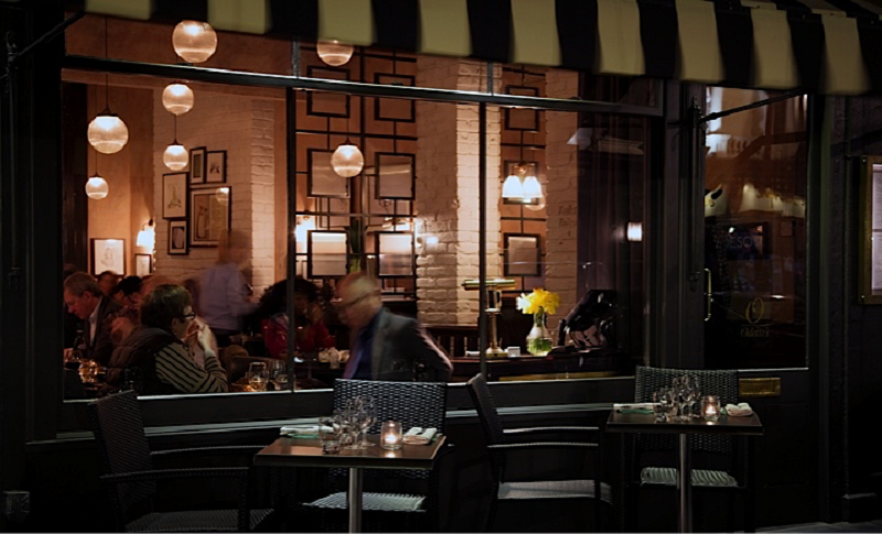 luxury private dining rooms at odette s restaurant bar