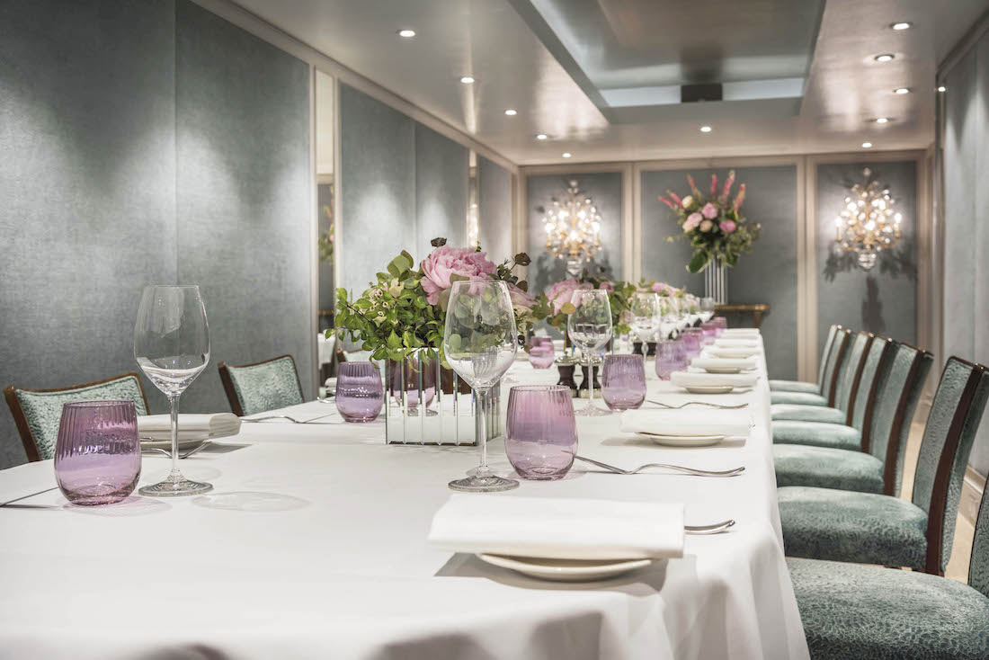 Private Dining Room at Outlaw's at The Capital - Basil Street, Knightsbridge, London, SW3 1AT