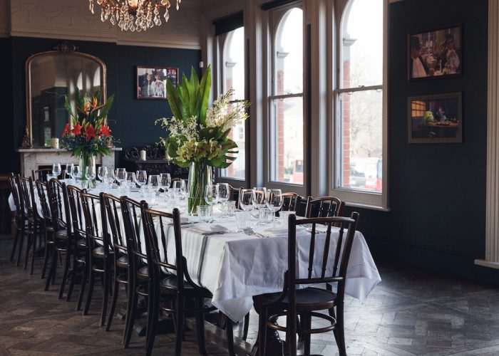 Luxury Private Dining Rooms At The Princess Victoria