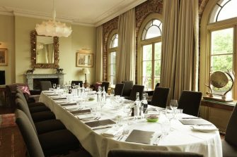 Private Dining Room at York Albany