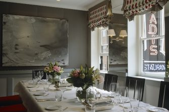 Quo Vadis Private Dining Room