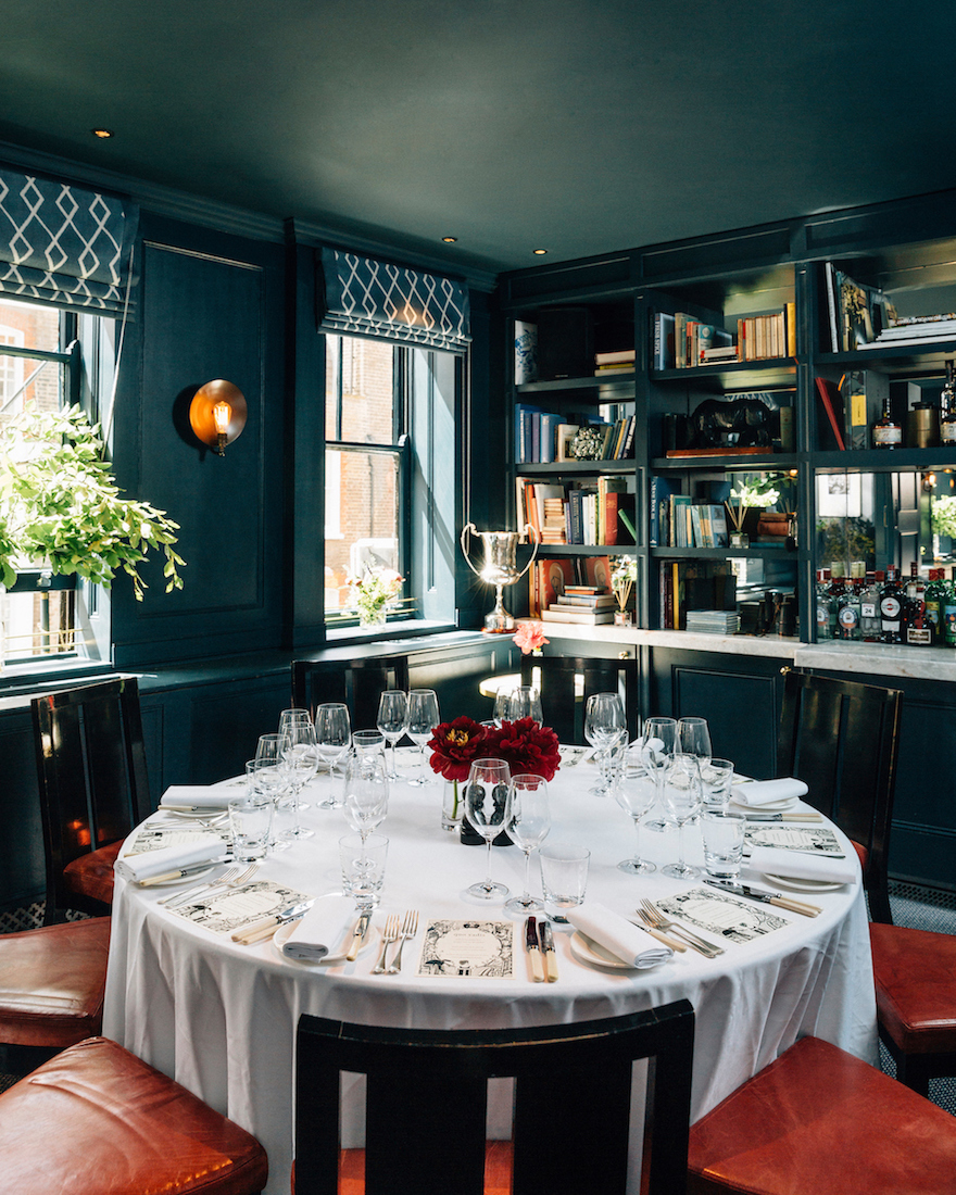 Private Dining Room at Quo Vadis - 26-29 Dean Street, Soho, London, W1D 3LL