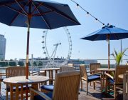R.S. Hispaniola   Cocktails On The Deck With View Of London Eye