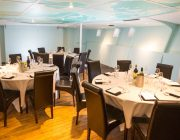 RS Hispaniola Private Dining Image Officers Mess