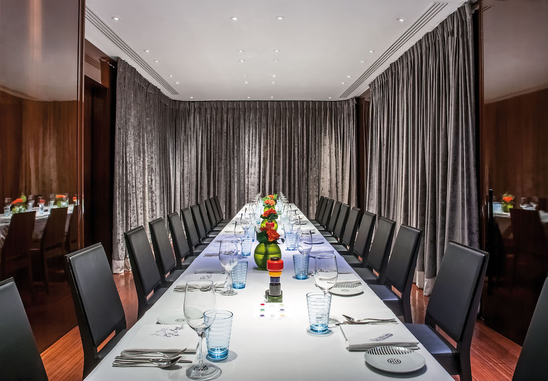 Luxury Private Dining Rooms At Rivea London