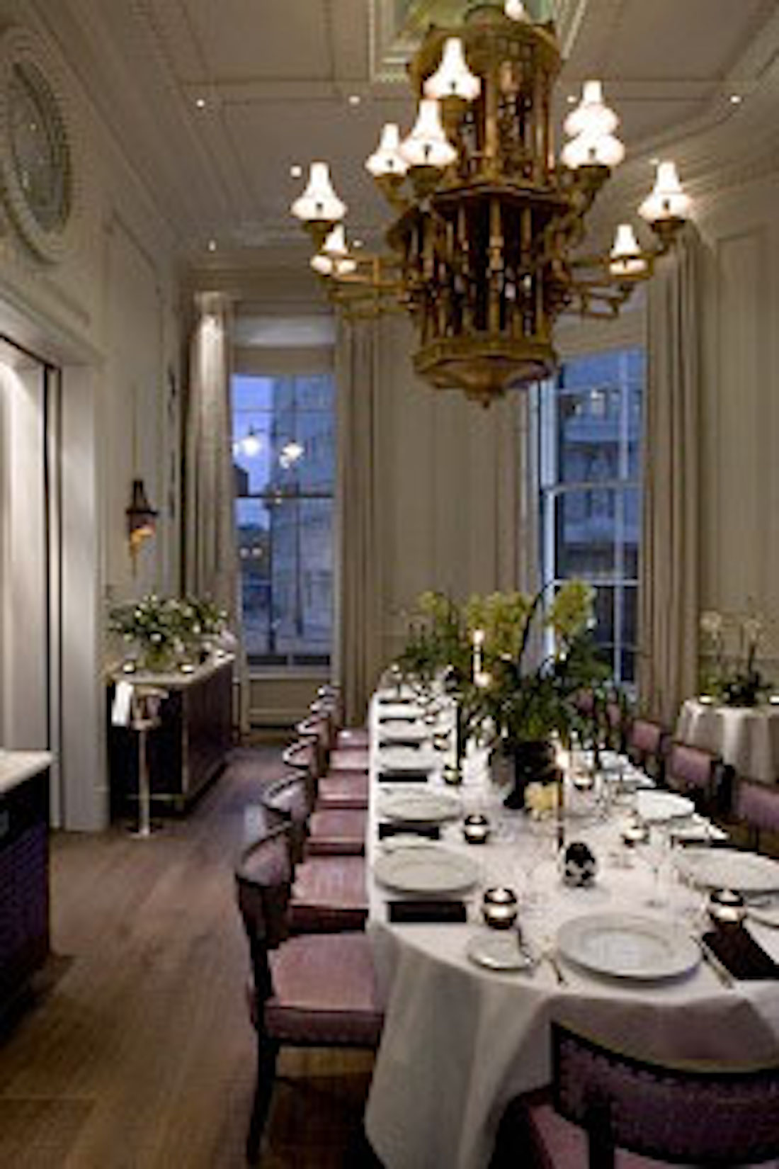 roux at the landau review private dining rooms