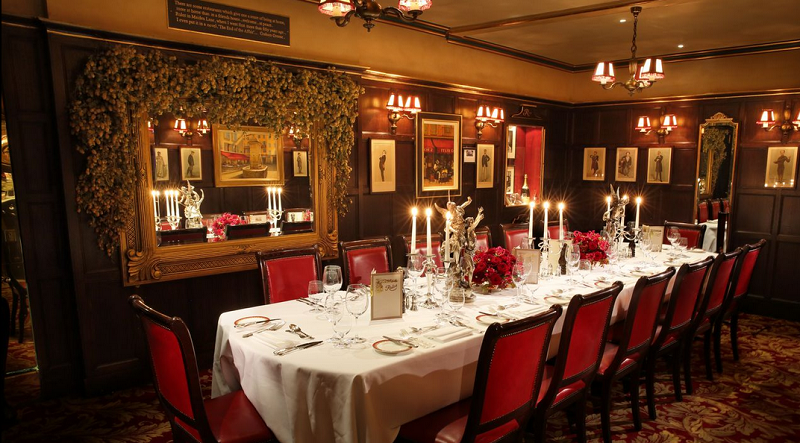 Discover private dining rooms in london for between 10 and for Best private dining rooms uk