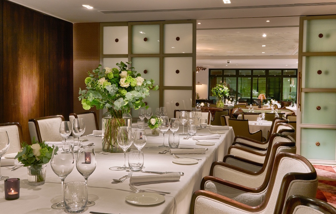 private dining rooms | Luxury Private Dining Rooms at Sartoria, Mayfair - London ...