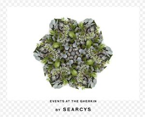 Searcys at The Gherkin logo