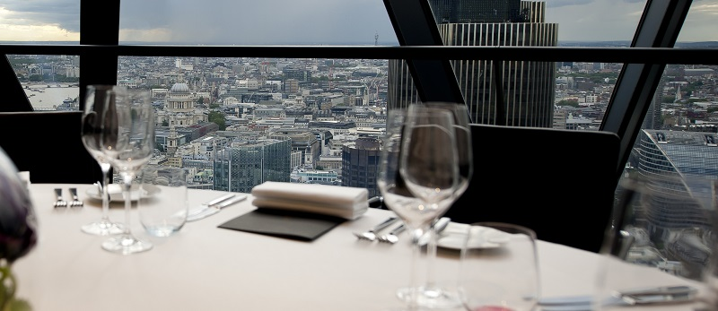 Searcys At The Gherkin Private Dining Room Chivas