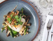 The Cage – Wright Brothers Soho Oyster House Food Image Roast Dorset Cod Fillet