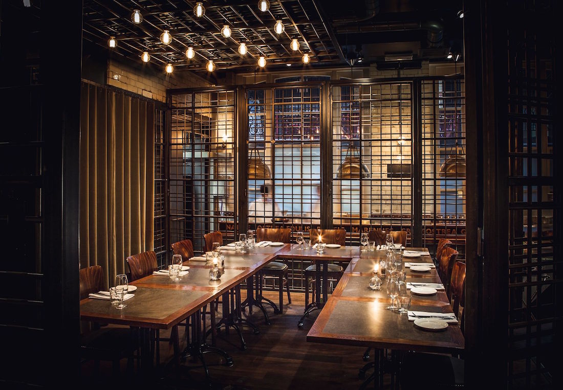 The cage wright brothers soho review private dining rooms for Best private dining rooms nyc 2016