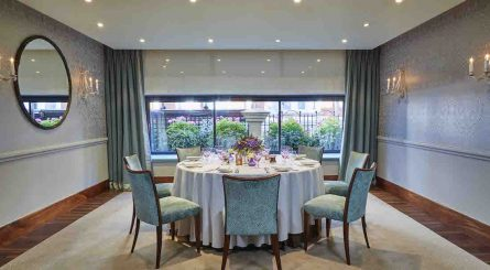 The Capital Hotel - Private Dining Room Image - The Eaton Suite