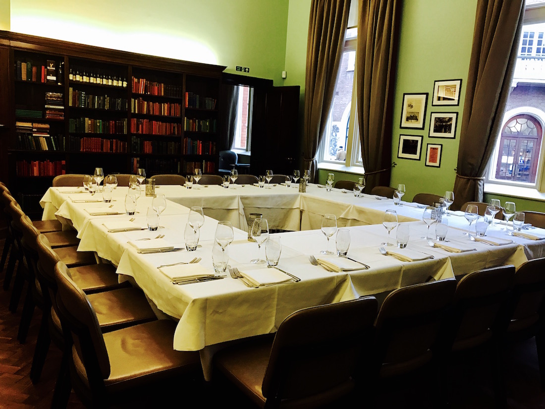 The Cinnamon Club - Private Dining Image - Library Bar