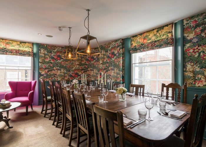 Luxury private dining rooms at the phene chelsea london for Best private dining rooms chelsea