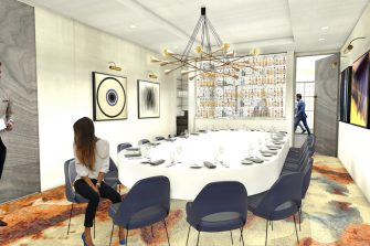 The Square Private Dining Room Refurbished Image 2