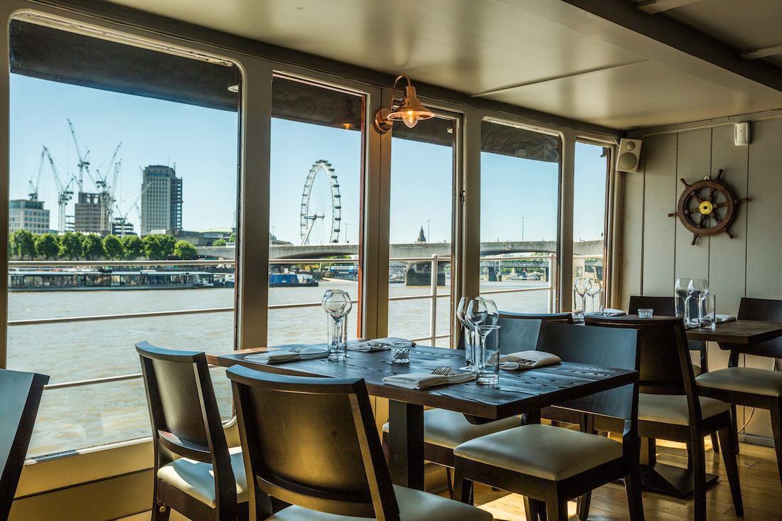 Private Dining Room At The Yacht, London West End
