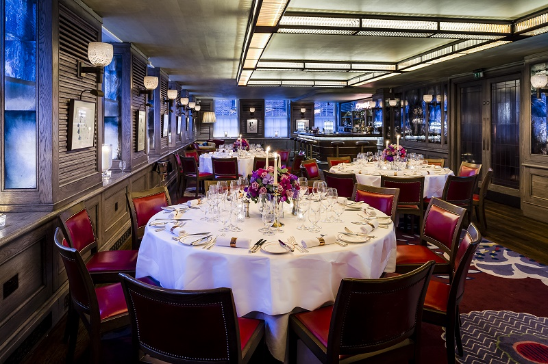 luxury private dining rooms at the emin room at 34 mayfair