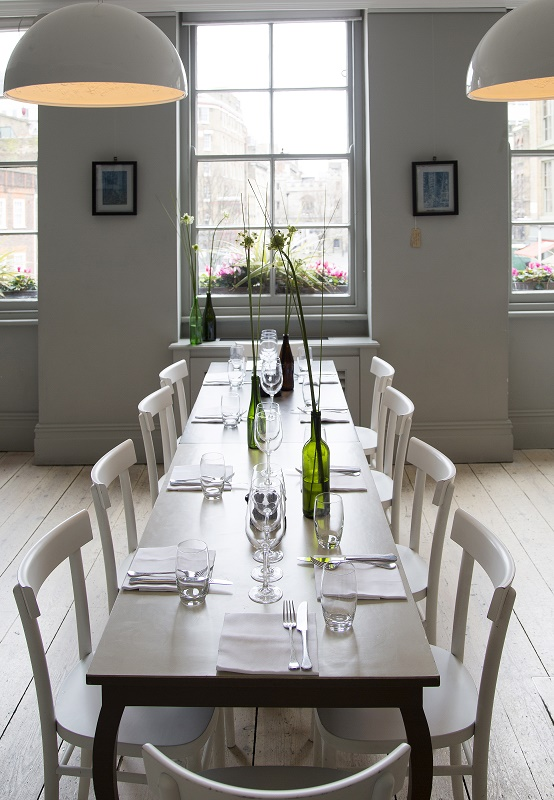 luxury private dining rooms at the modern pantry