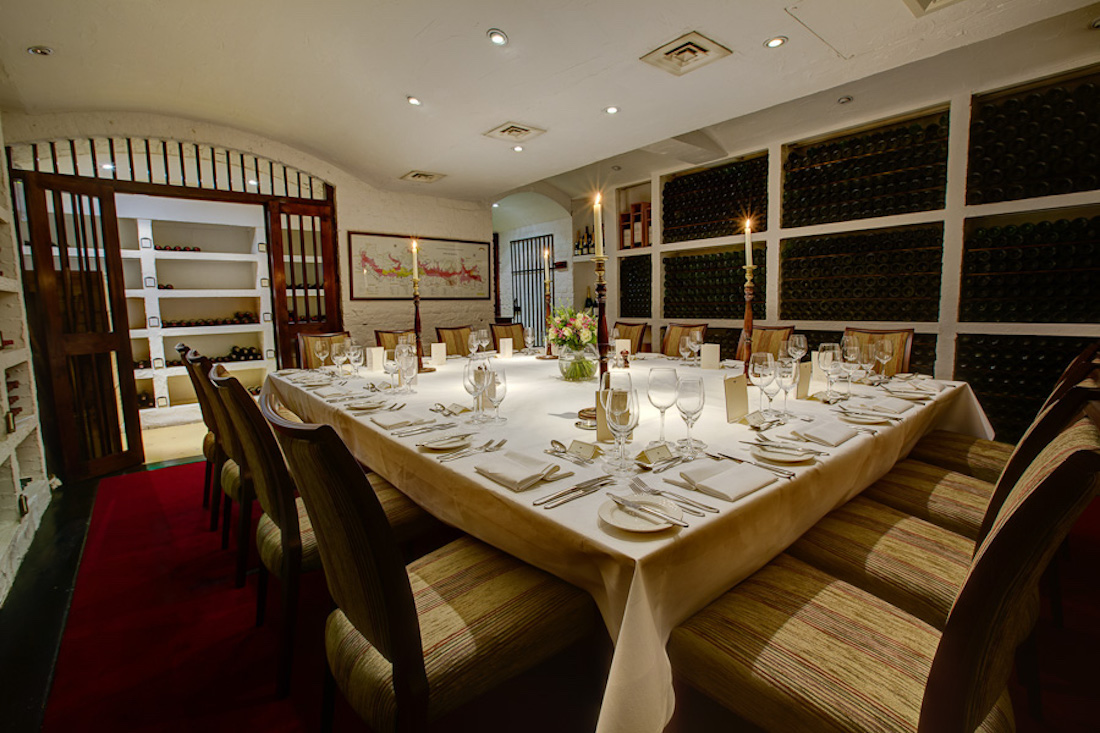 luxury private dining & party rooms in chiswick