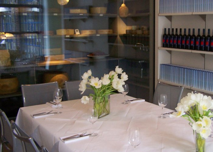 Luxury Private Dining Room At The River Cafe Hammersmith