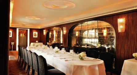 The Savoy Grill   Private Dining Rooms   Image3