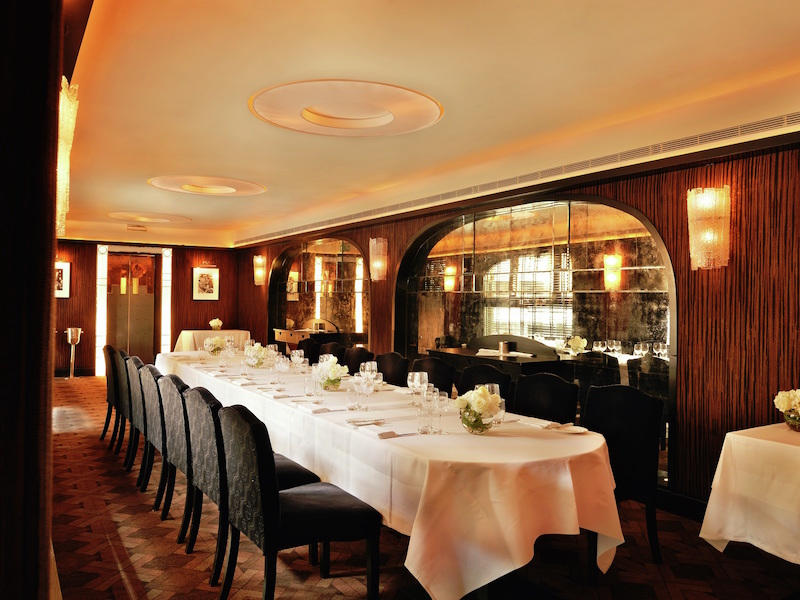 West end private dining rooms for office christmas lunches for Best private dining rooms west end