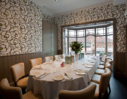 The private dining room at Earle By Simon Rimmer