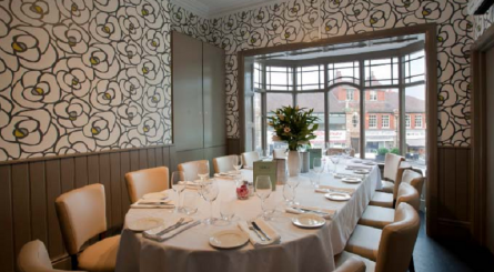 luxury private dining party rooms in cheshire