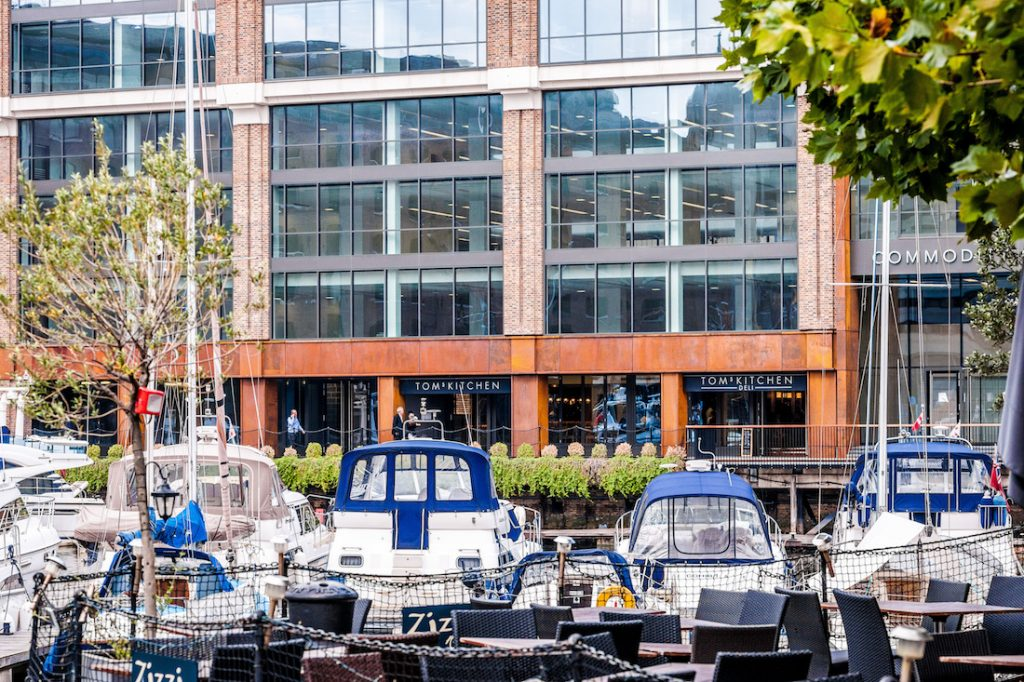 Tom's Kitchen St Katharine Docks - External Image2