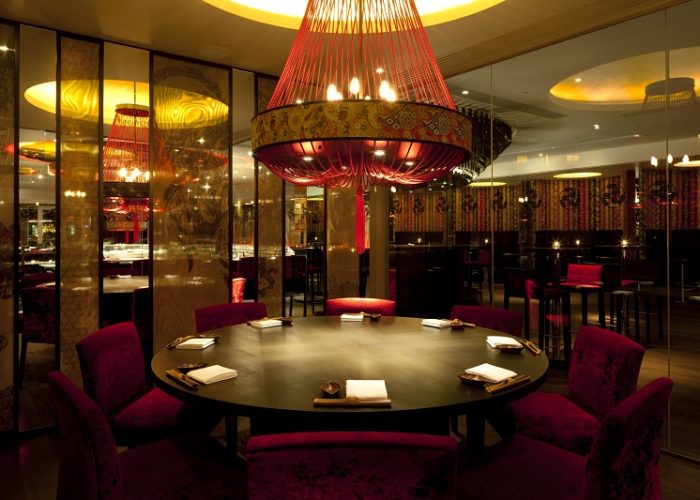 Luxury Private Dining Rooms at Aqua London, Regent Street