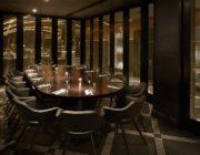 aqua nueva El Salon private dining room