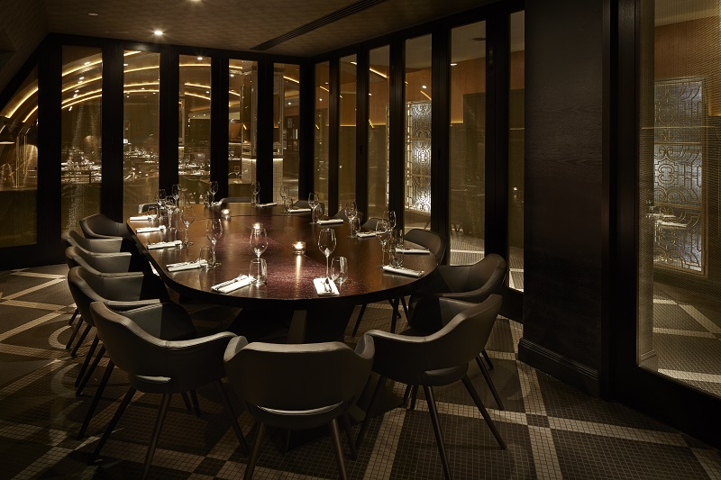 Luxury private dining rooms at aqua london regent street for Best private dining rooms uk