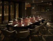 aqua nueva La Casita private dining room