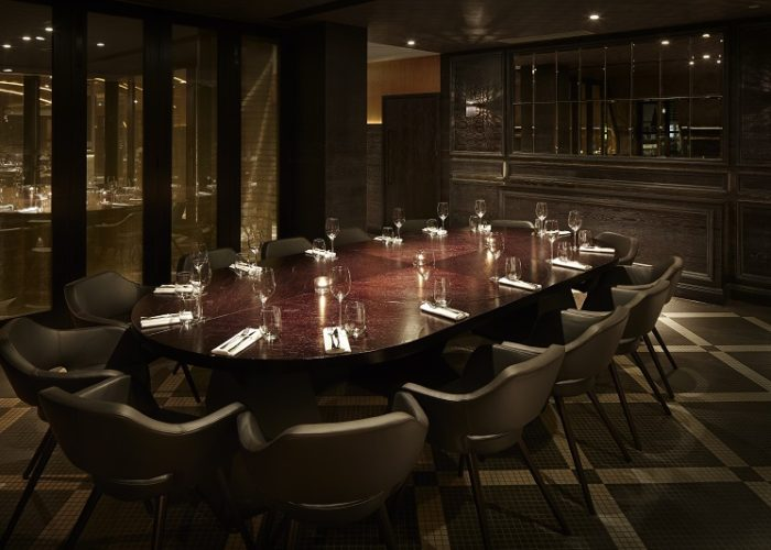 Luxury private dining rooms at aqua london regent street for Best private dining rooms west end london