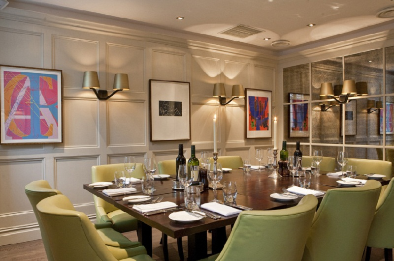 Luxury Private Dining Rooms At Chiswell Street