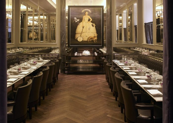 Luxury private dining rooms at the northall for Private dining room 90277