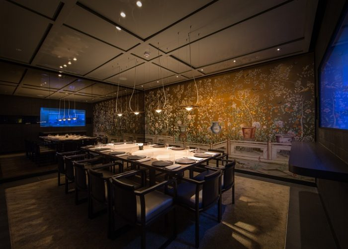 Luxury private dining rooms at hkk restaurant for Best private dining rooms uk
