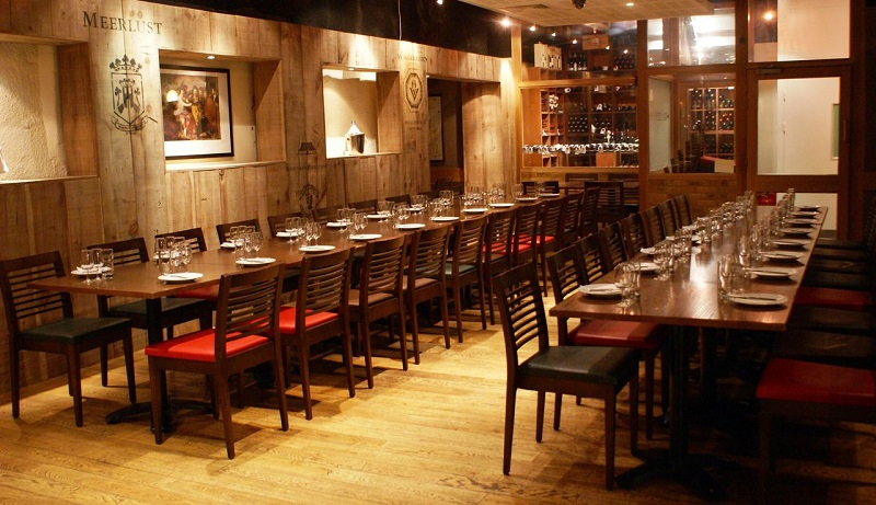 Luxury private dining rooms at vivat bacchus london bridge for Best private dining rooms uk