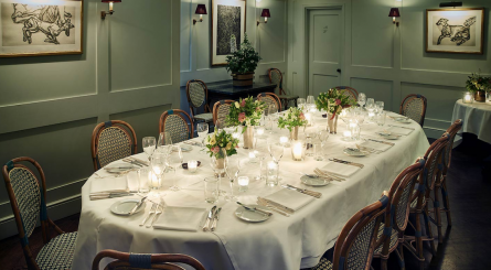 Clarkes Restaurant   Private Dining Room 1