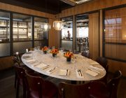 Heddon Street Kitchen   Private Dining Room With View Into Restaurant.
