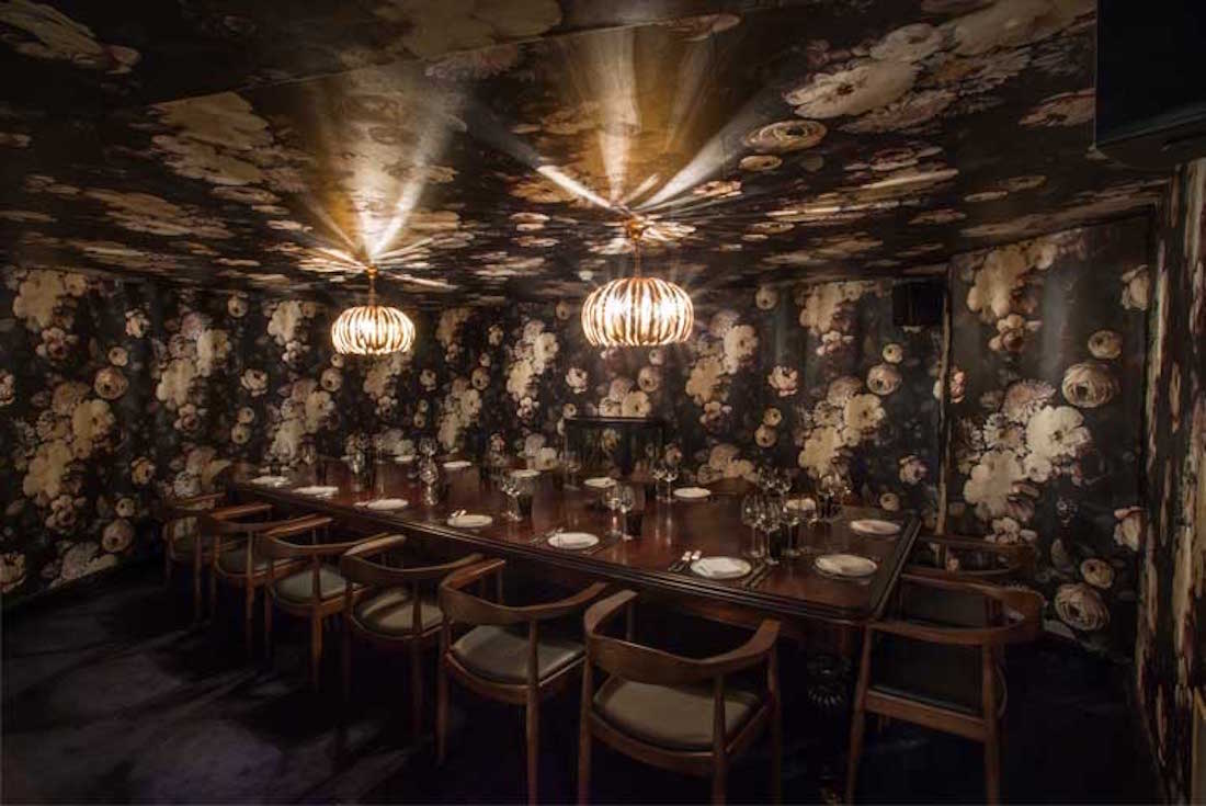 Ours Restaurant Bloom Private Dining Room