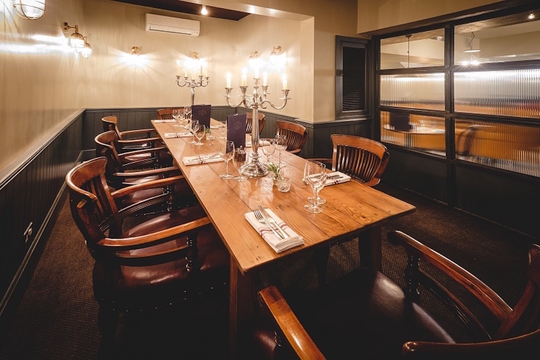 Private Dining Room at Bunghole Cellars, London West End