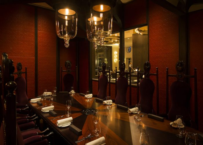 luxury private dining rooms at dinner by heston blumenthal