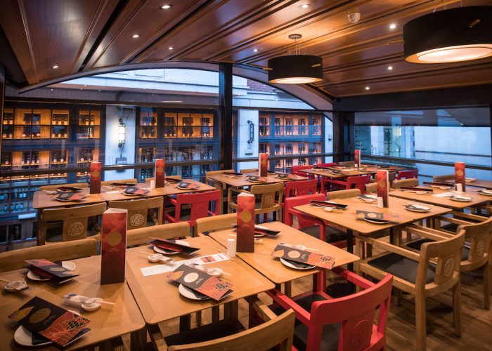 luxury private dining rooms at ping pong - covent garden