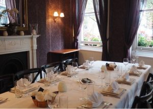 Private Dining Rooms at the Clerk and Well